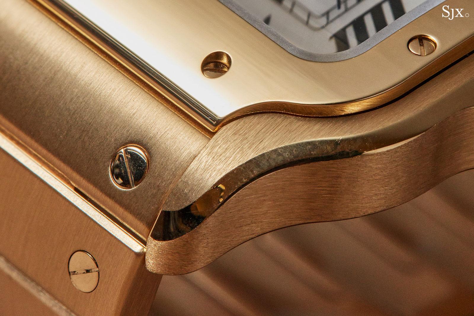 Cartier Santos watch 2018 18k gold