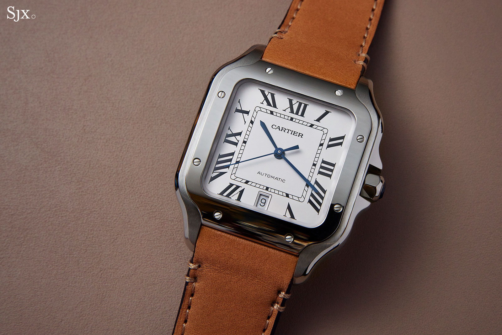 Cartier Santos watch 2018 steel