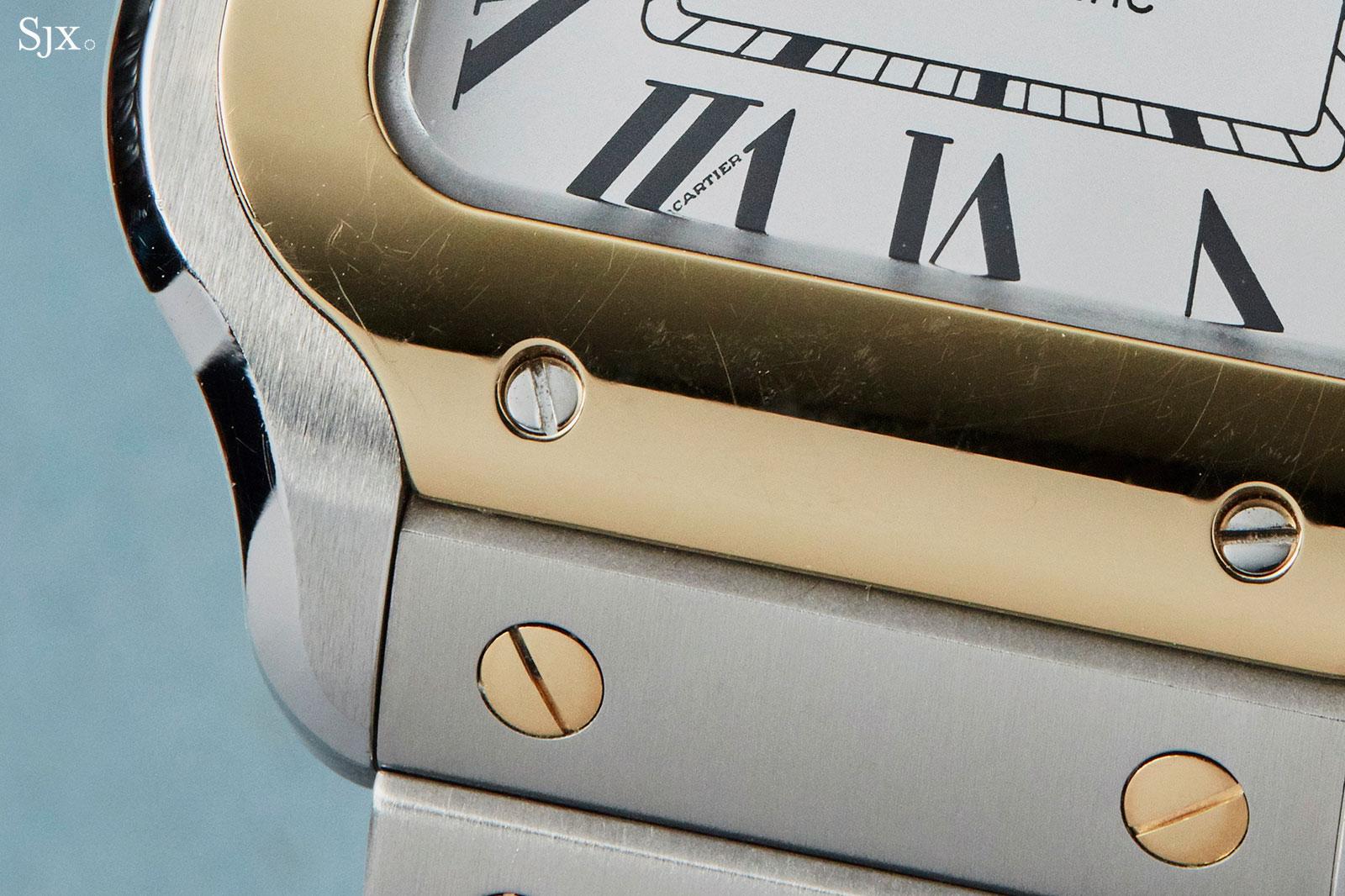 Cartier Santos watch 2018 two tone
