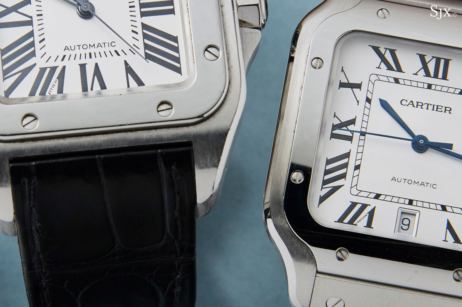 Cartier Santos watch 2018 vs Santos 100