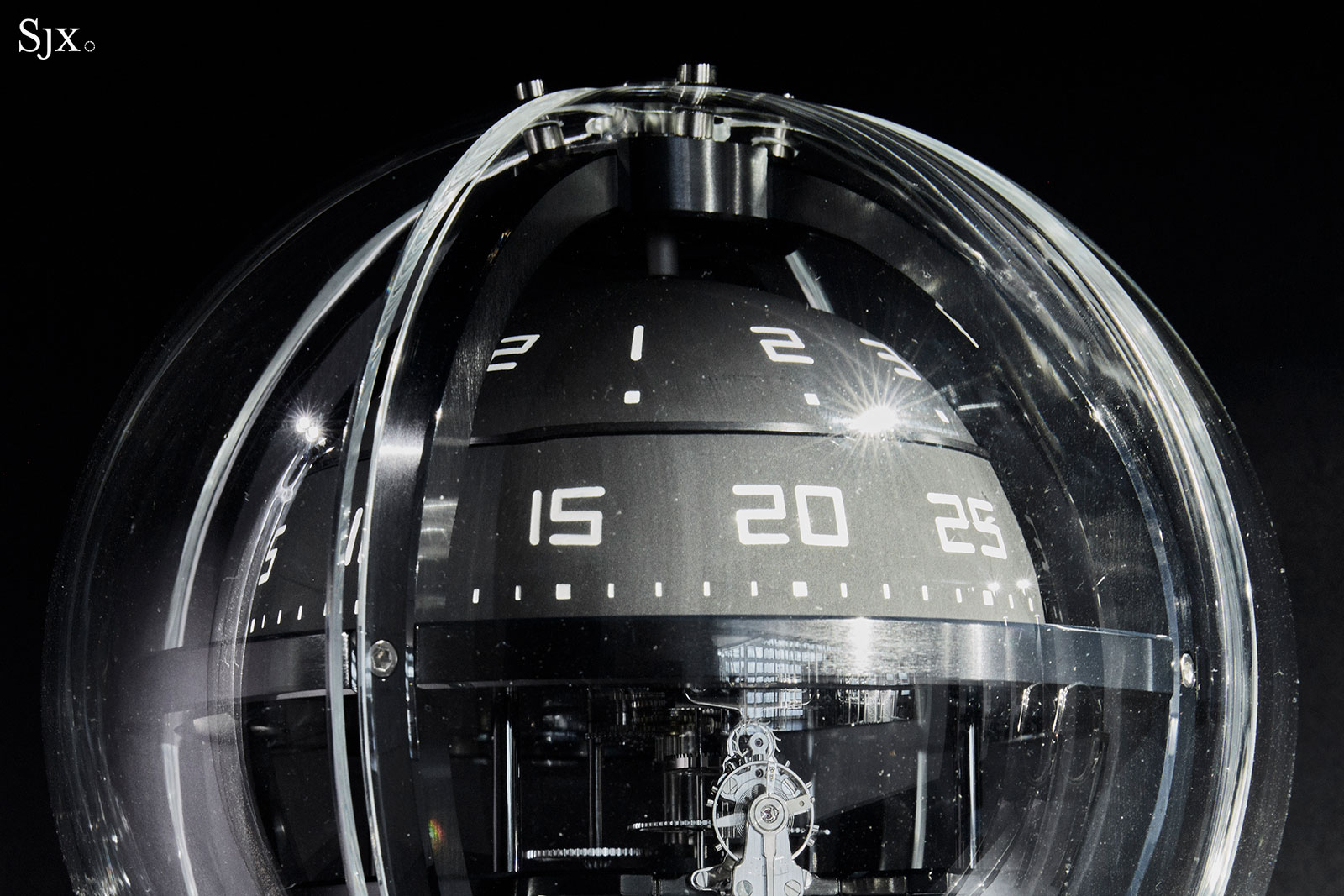 Chanel Chronosphere Clock 1