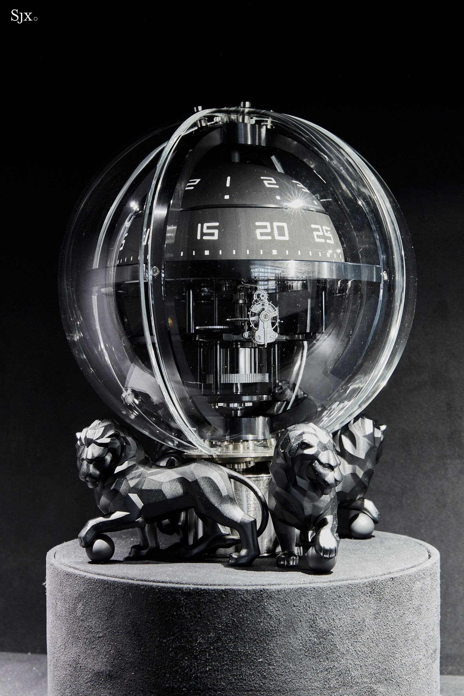 Chanel Chronosphere Clock 4