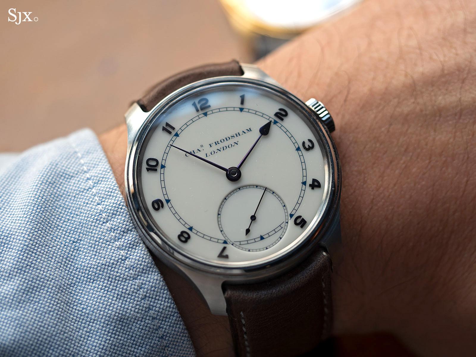 Charles Frodsham Double Impulse chronometer wristwatch 3