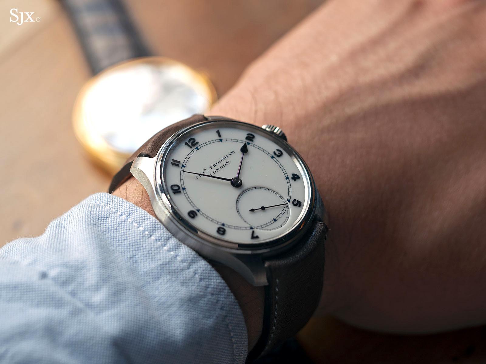Charles Frodsham Double Impulse chronometer wristwatch 4