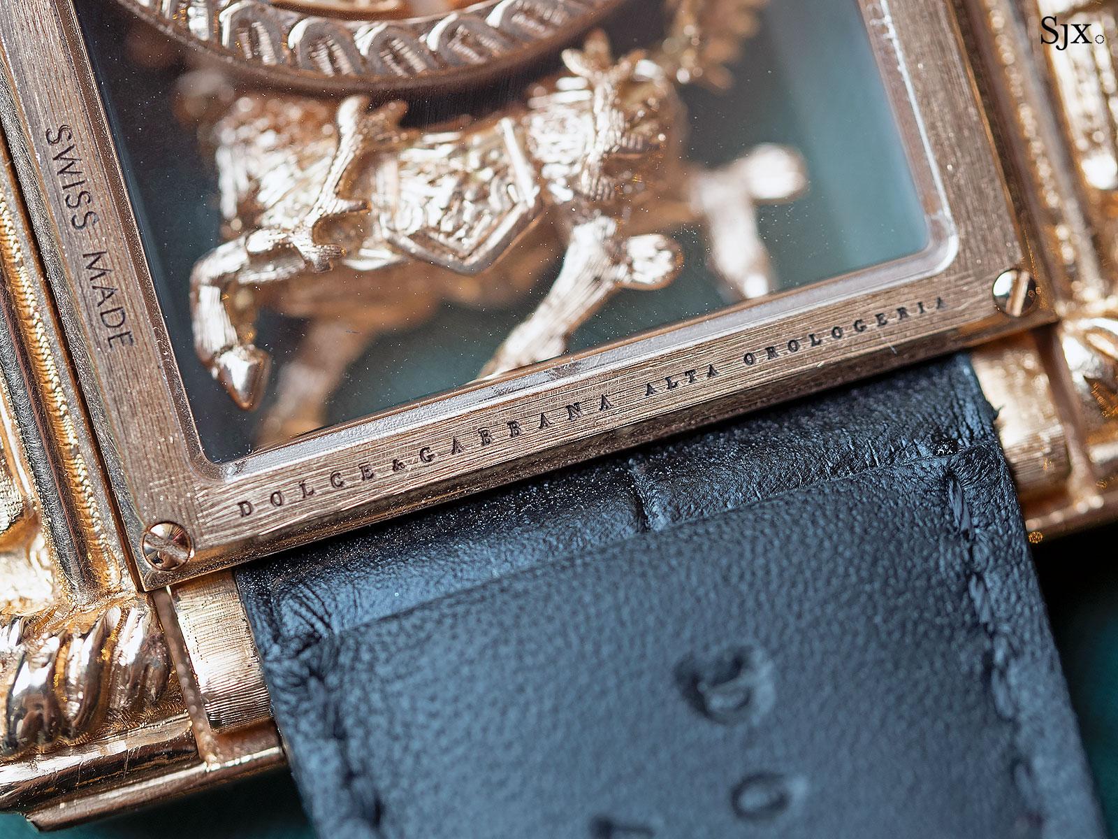 Dolce Gabbana Alta Orologeria Qilin watch 8