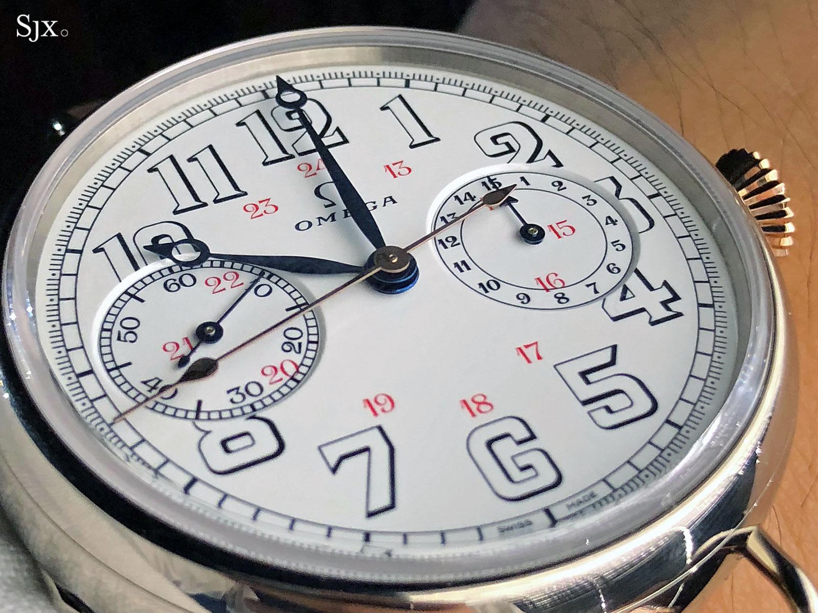First OMEGA Wrist-Chronograph Limited Edition 18'''CHRO 12