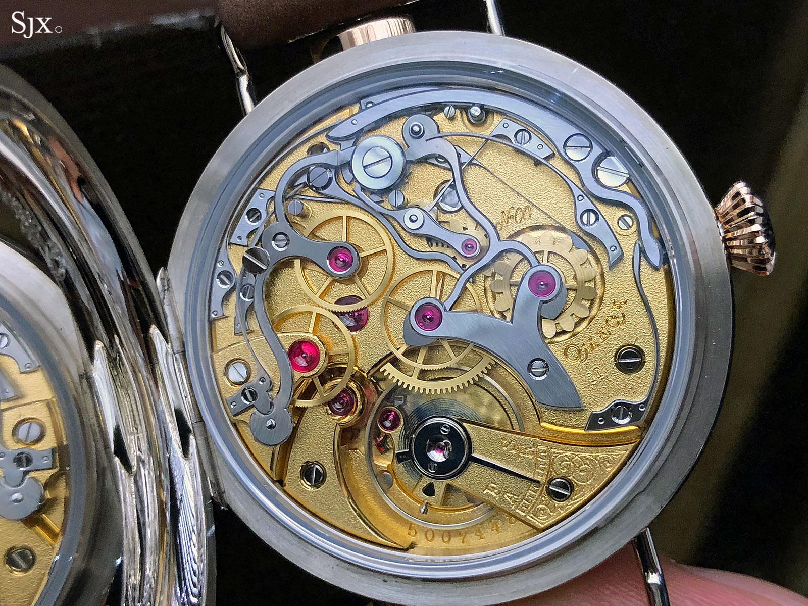First OMEGA Wrist-Chronograph Limited Edition 18'''CHRO 13