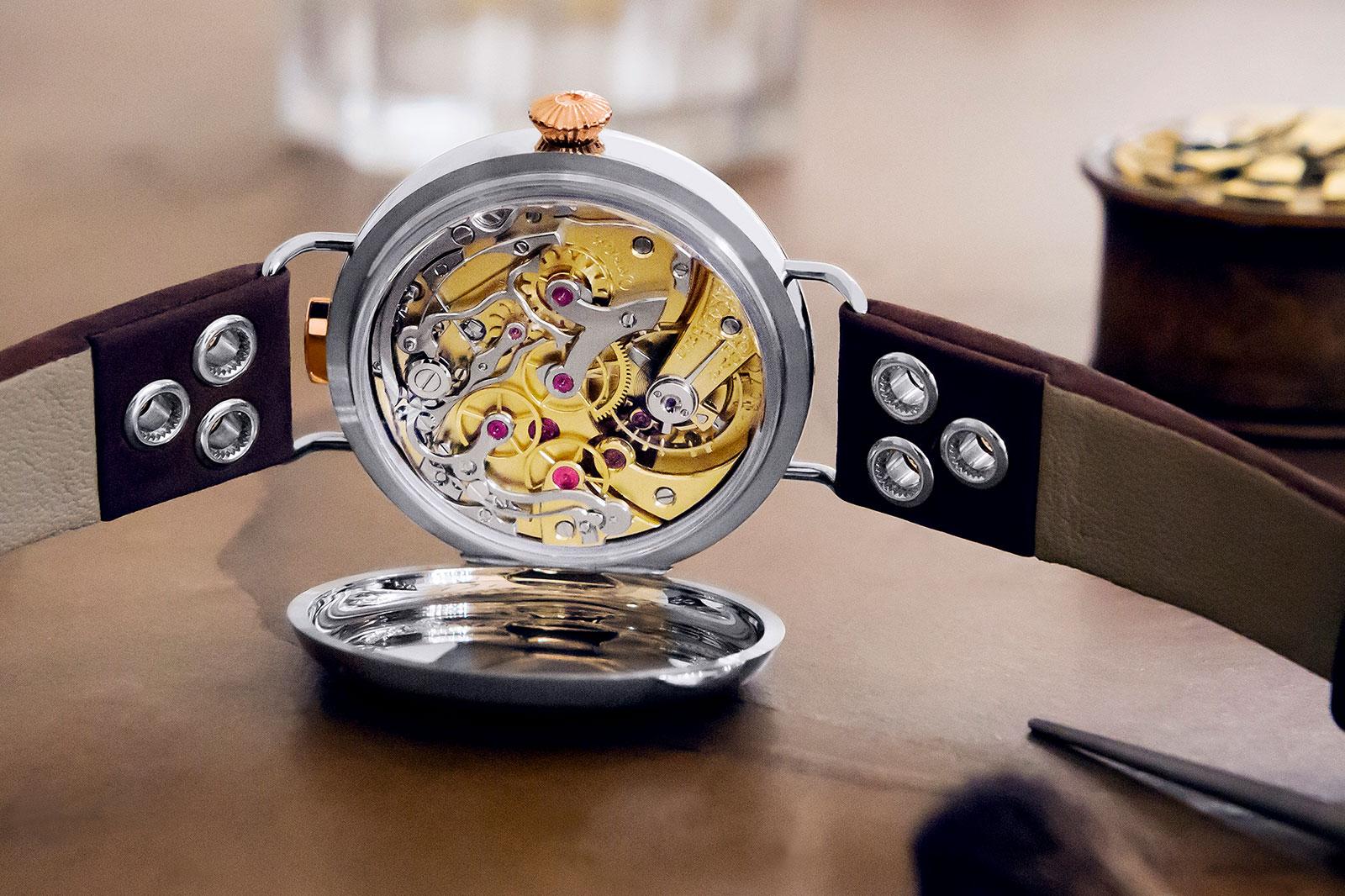 First OMEGA Wrist-Chronograph Limited Edition 18'''CHRO 4