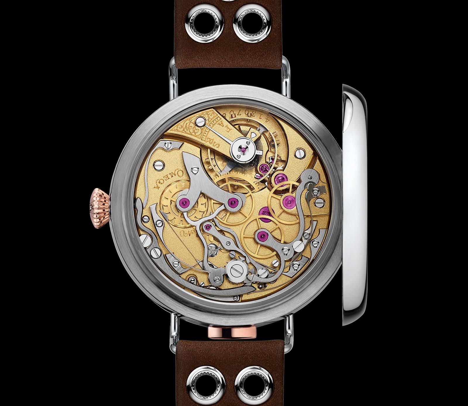 First OMEGA Wrist-Chronograph Limited Edition 18'''CHRO 9