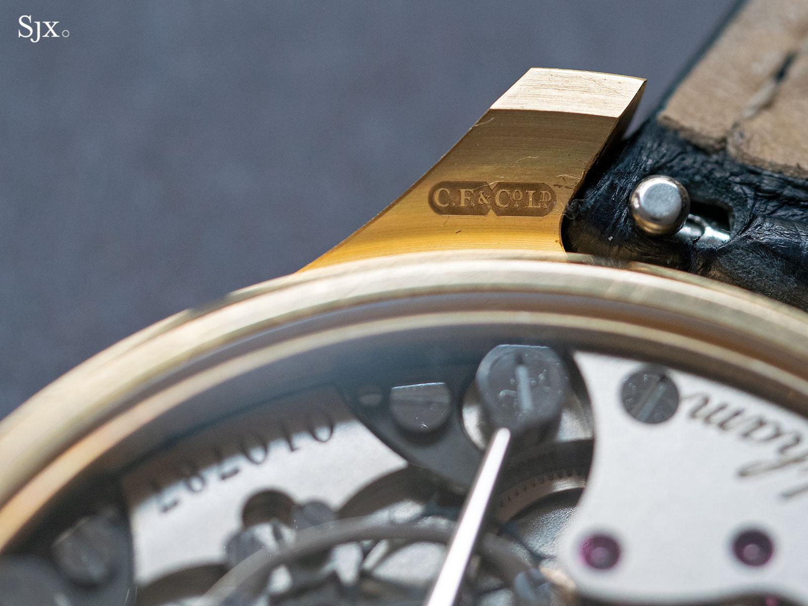 Frodsham Double Impulse Chronometer 22k gold 9