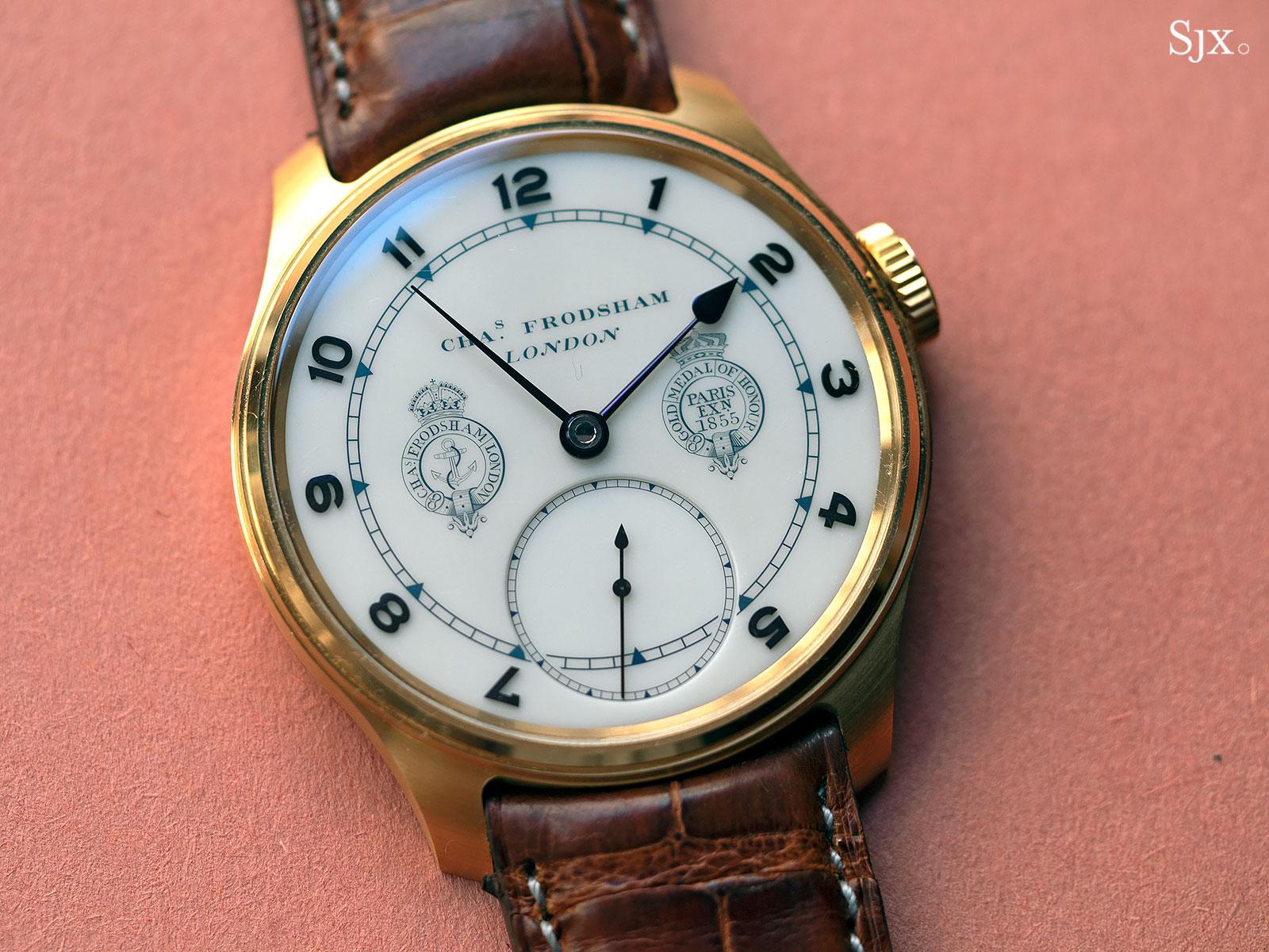 Frodsham Double Impulse chronometer Cyphers 1
