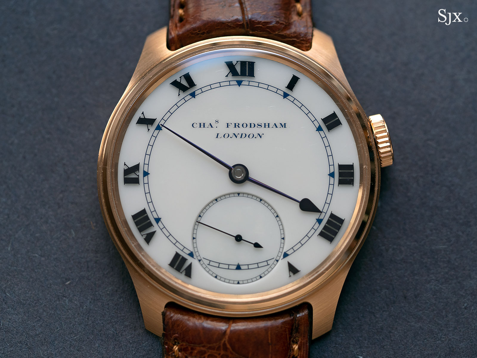 Frodsham Double Impulse chronometer rose gold 1