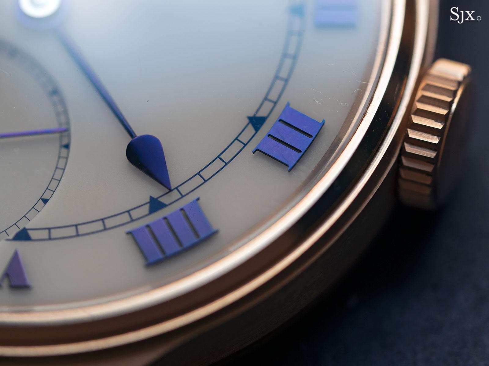 Frodsham Double Impulse chronometer rose gold 5