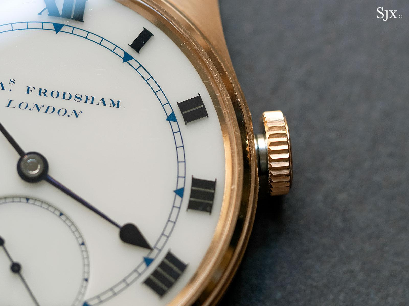 Frodsham Double Impulse chronometer rose gold 6