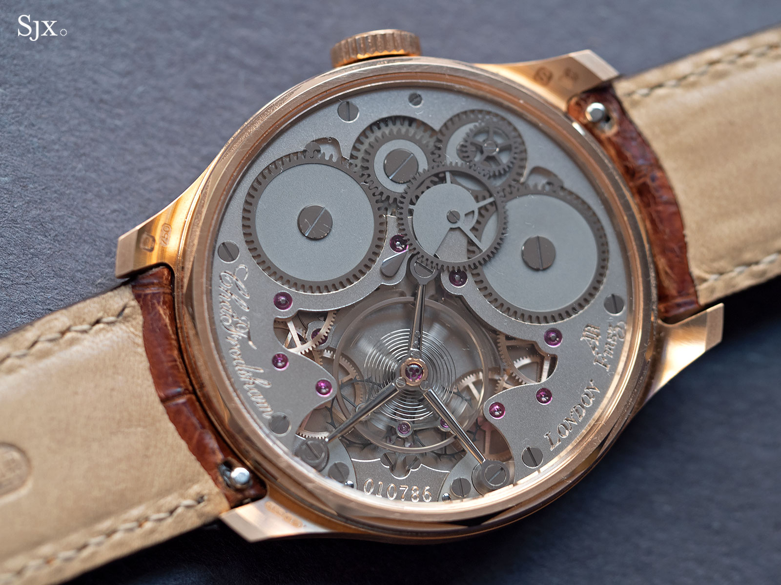 Frodsham Double Impulse chronometer rose gold 7