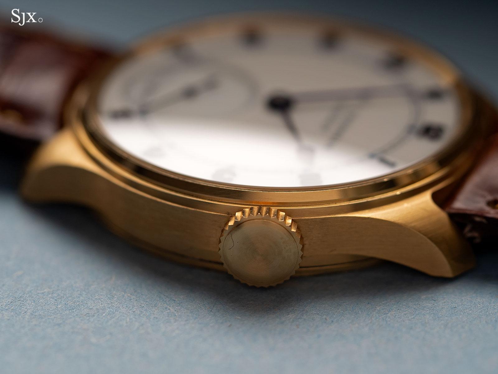 Frodsham Double Impulse chronometer yellow gold 4