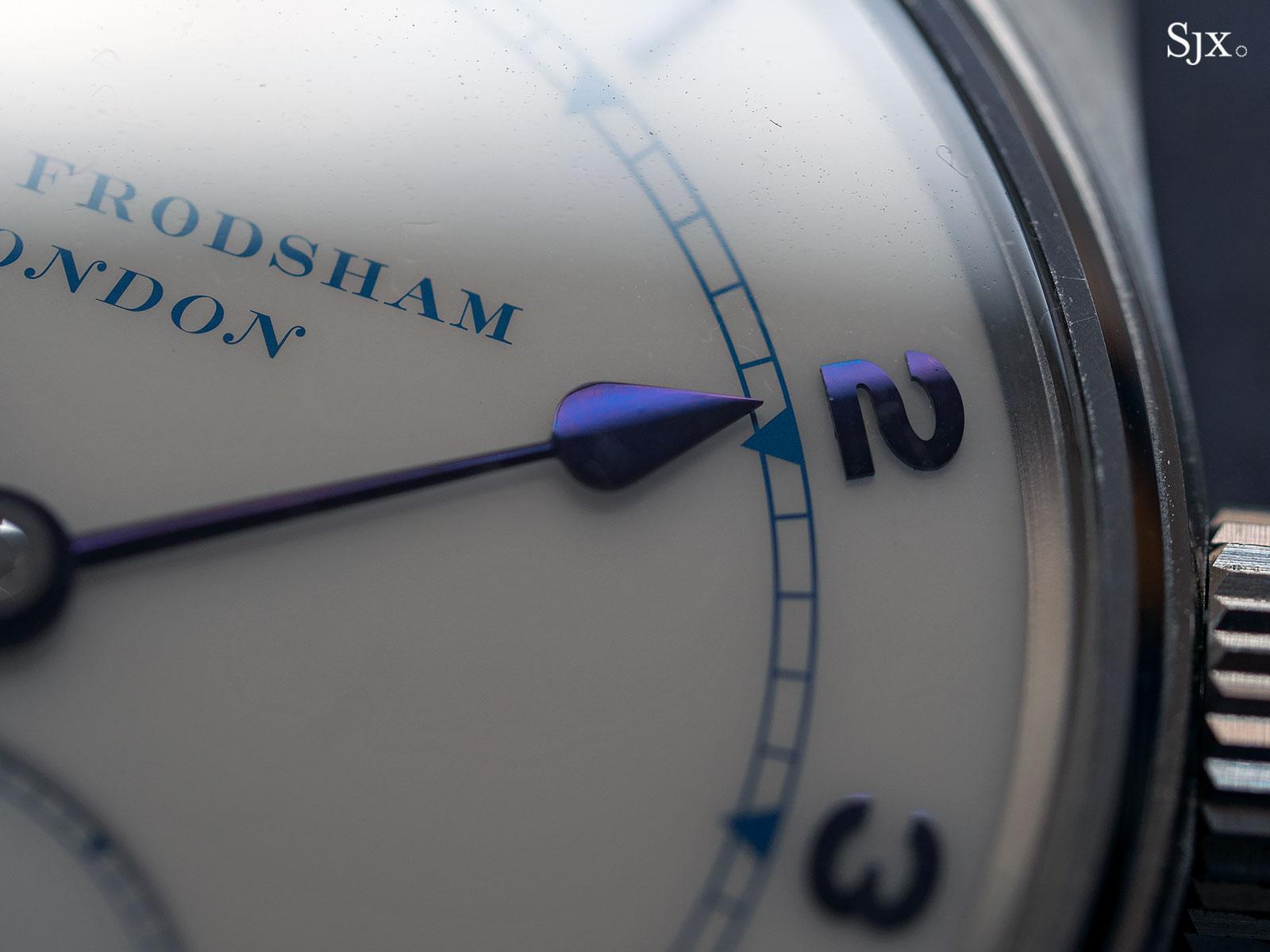 Frodsham Double Impulse wristwatch steel 3