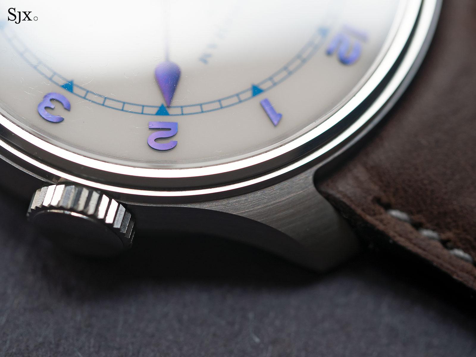 Frodsham Double Impulse wristwatch steel 4