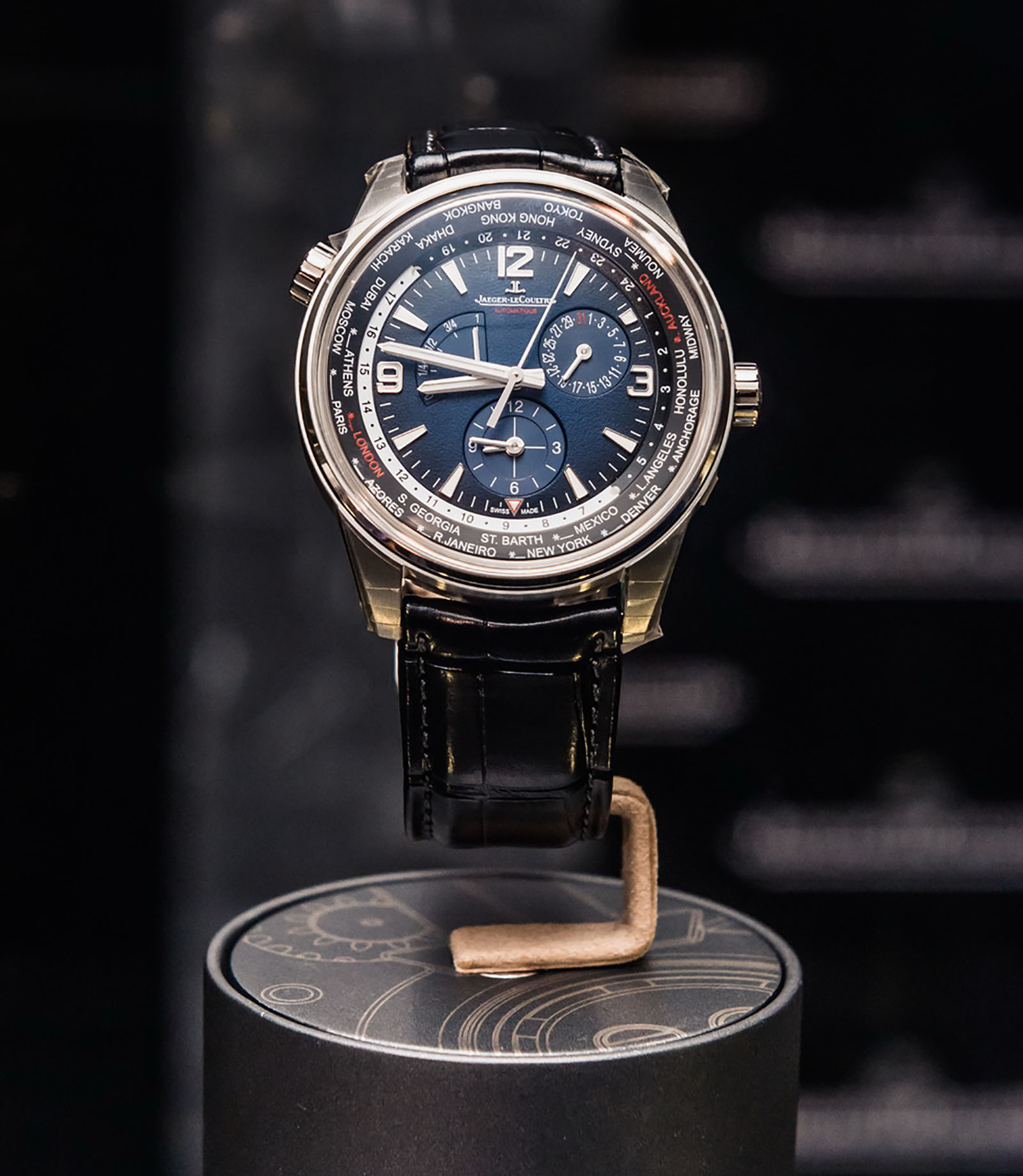 Jaeger-LeCoultre Polaris Geographic Worldtime