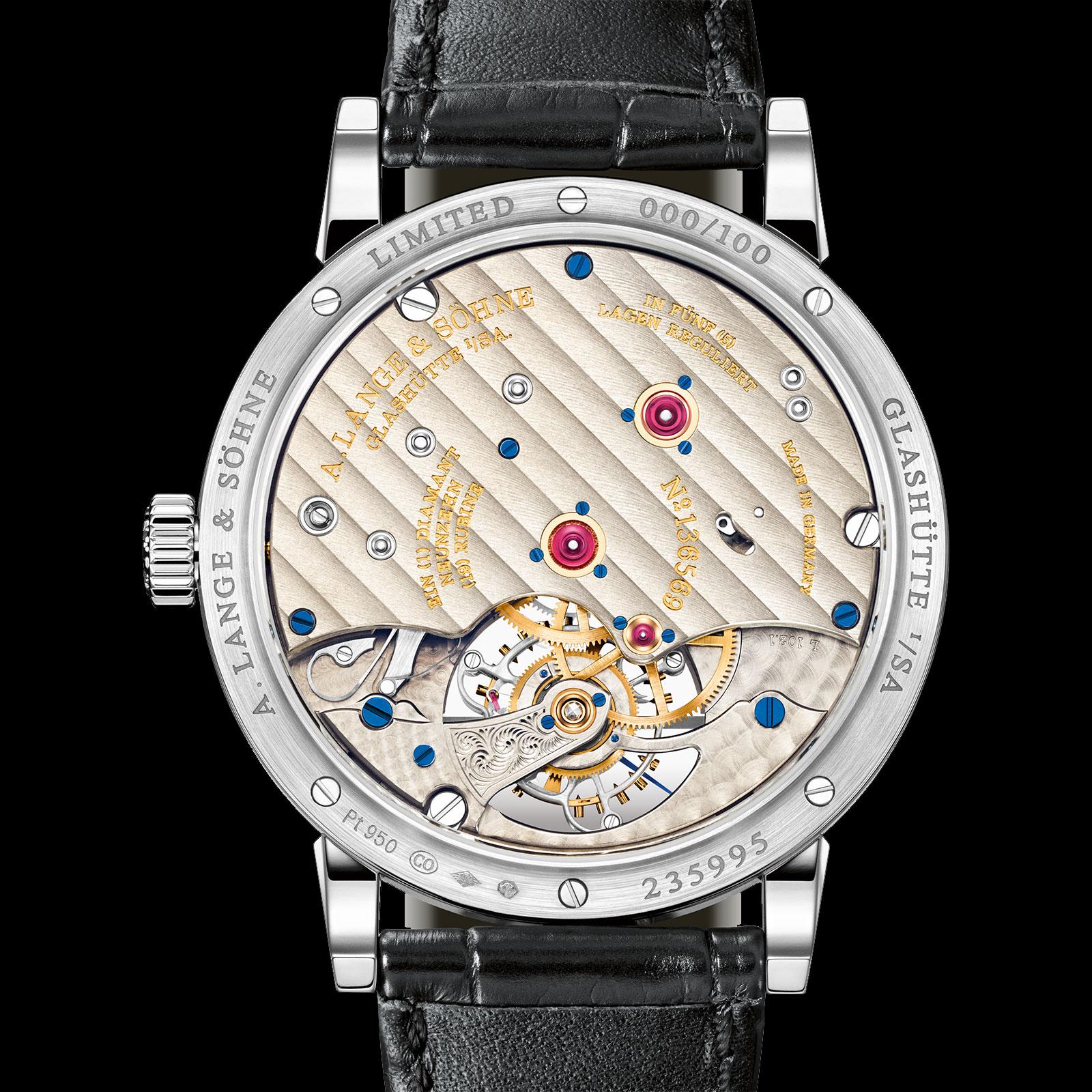 Lange 1815 Tourbillon Enamel Dial platinum 5