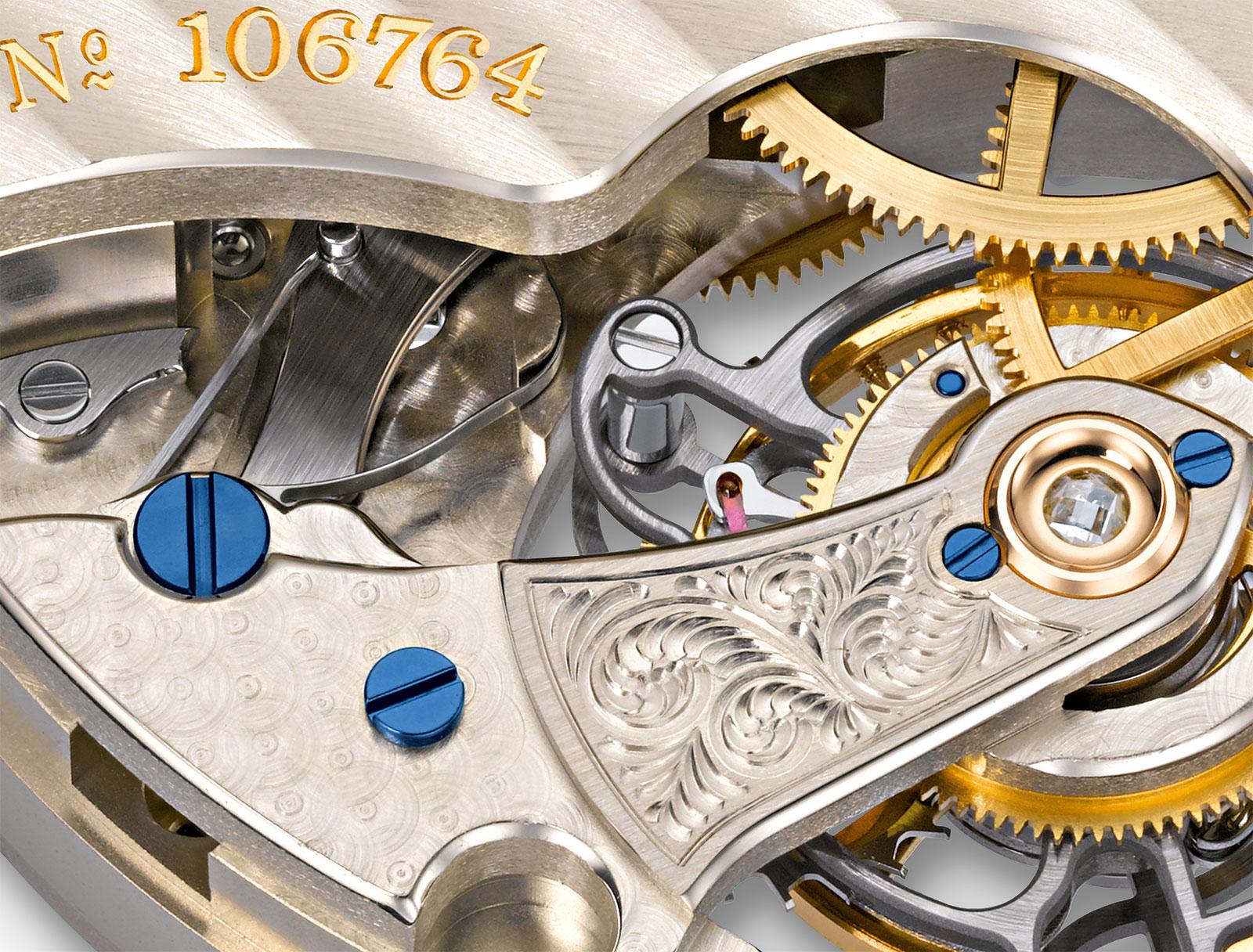 Lange 1815 Tourbillon Enamel Dial platinum 6