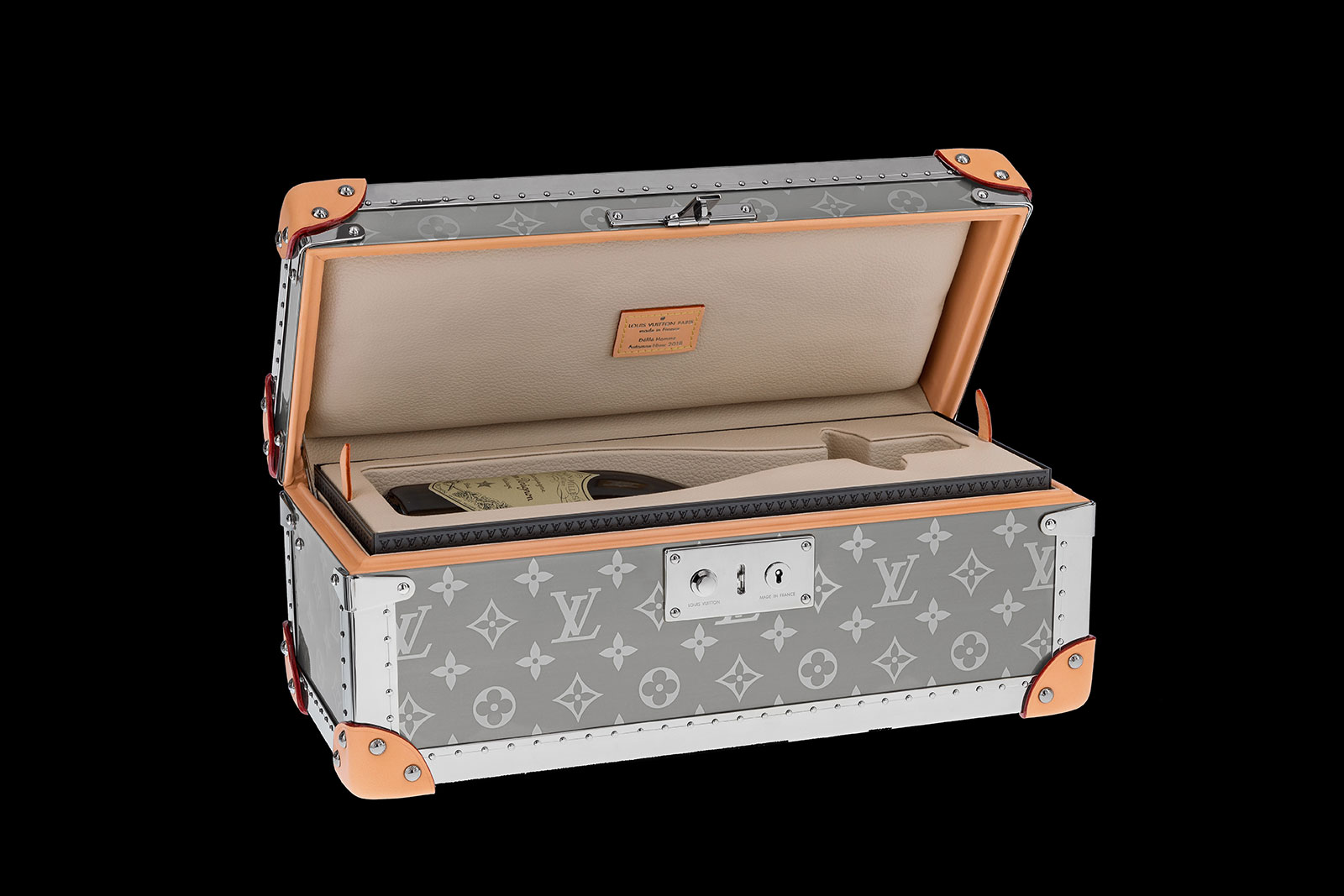 Louis Vuitton Monogram-Titanium-Champagne-Box