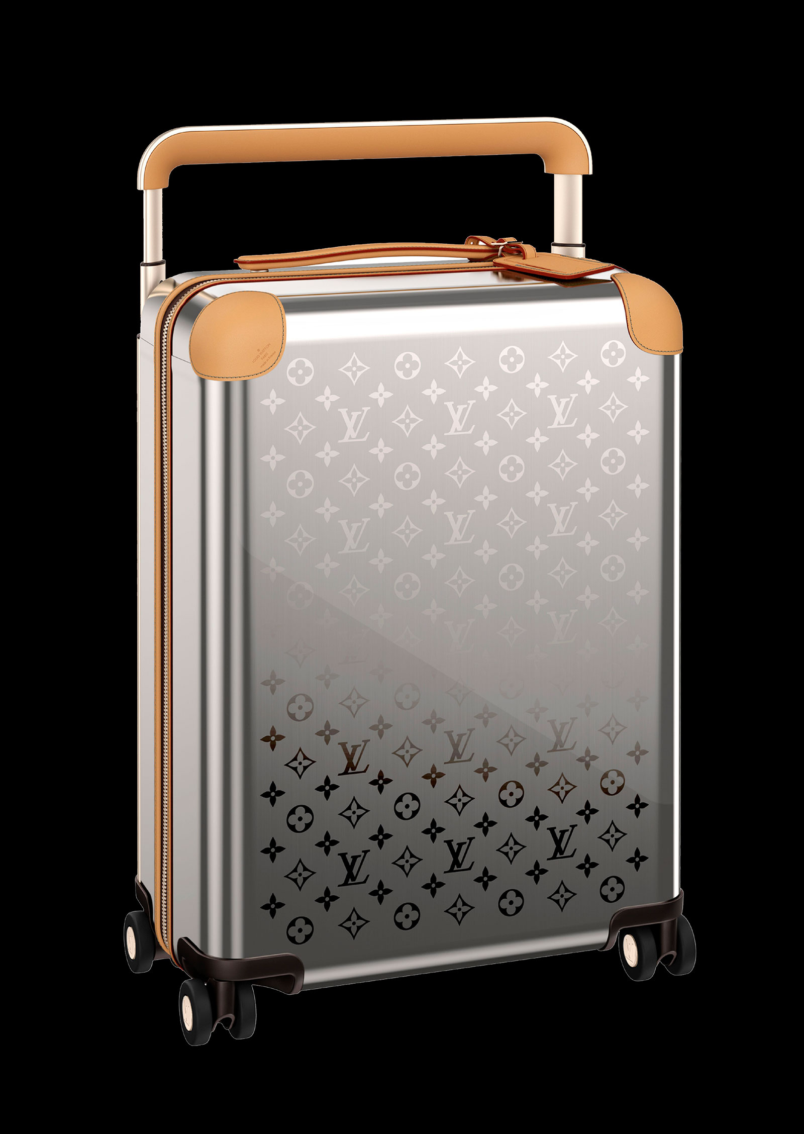 Louis Vuitton Monogram-Titanium-Horizon-Luggage