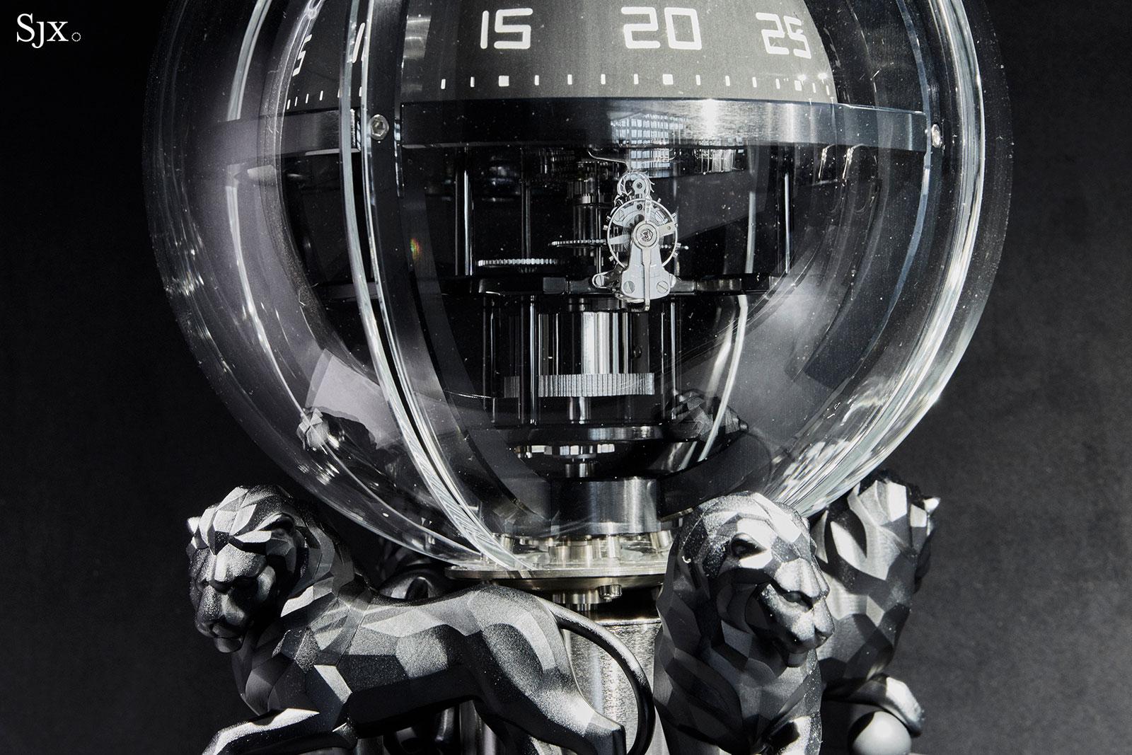 Monsieur de Chanel Chronosphere Clock 5
