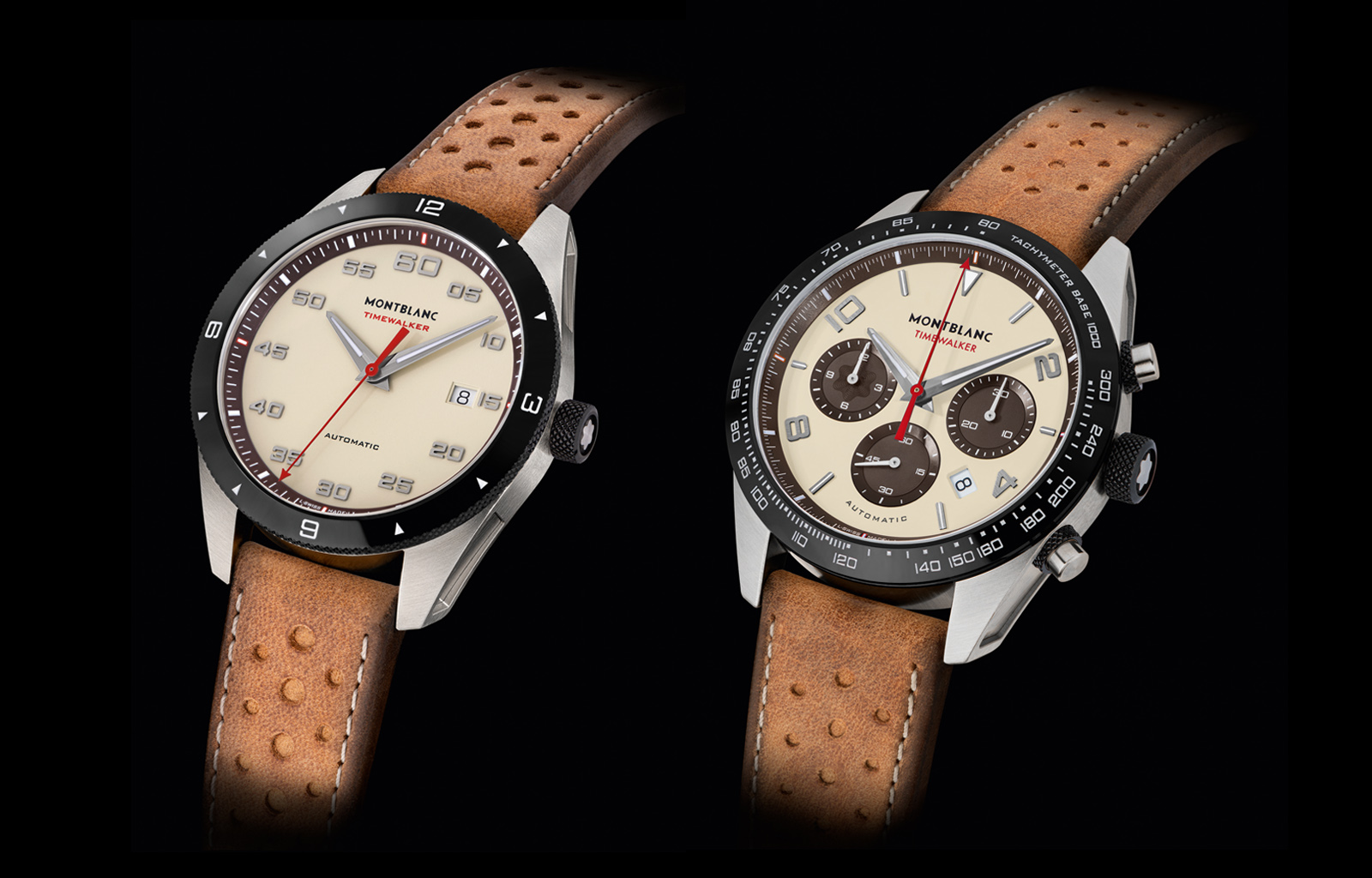 765a668380e Montblanc TimeWalker Manufacture Chronograph and Date Automatic Cappuccino  Edition
