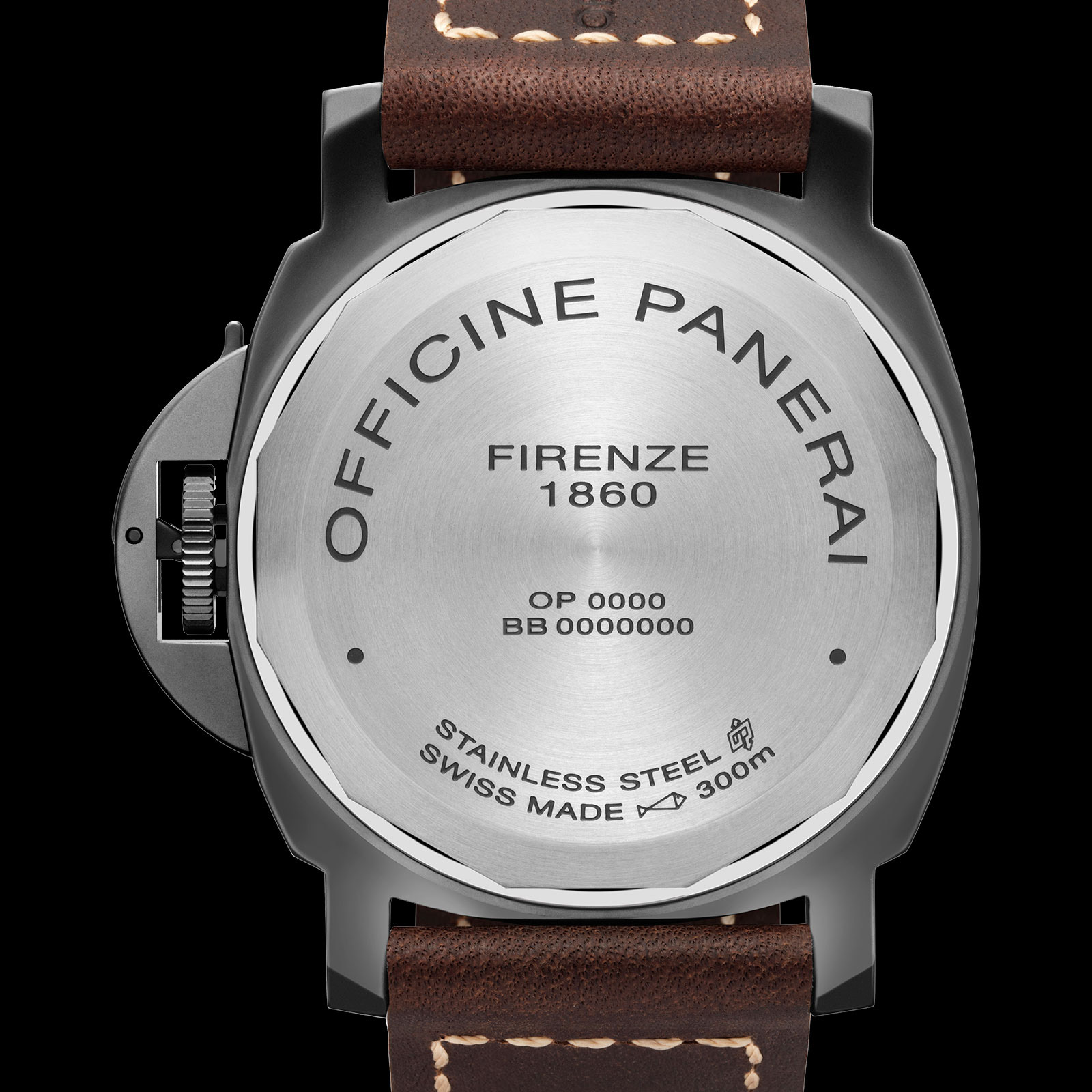 Panerai Panerai Luminor California 8 Days DLC PAM 779 back