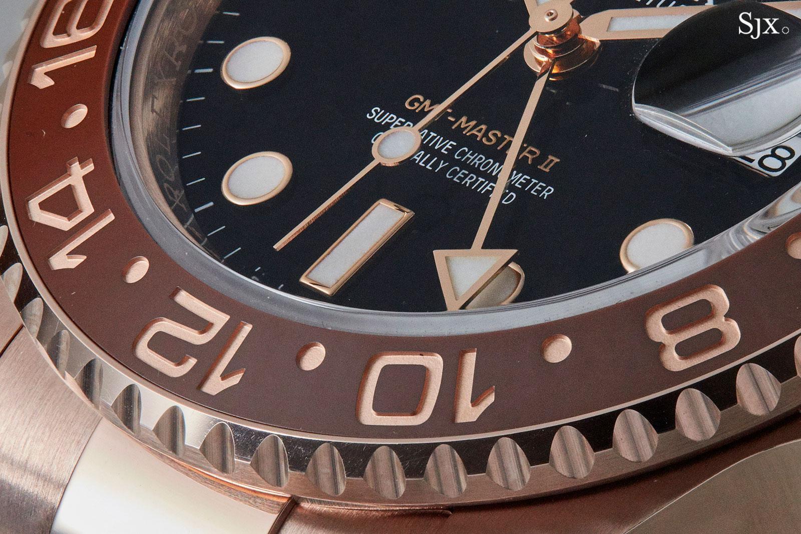 Rolex GMT-Master II 126715 Everose bezel