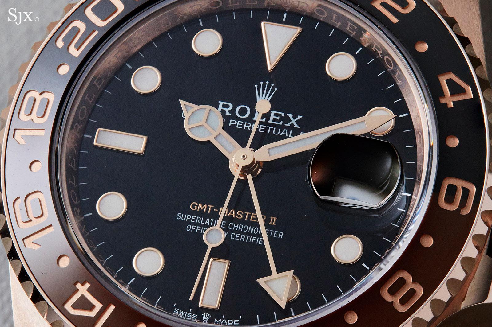 Rolex GMT-Master II 126715 Everose