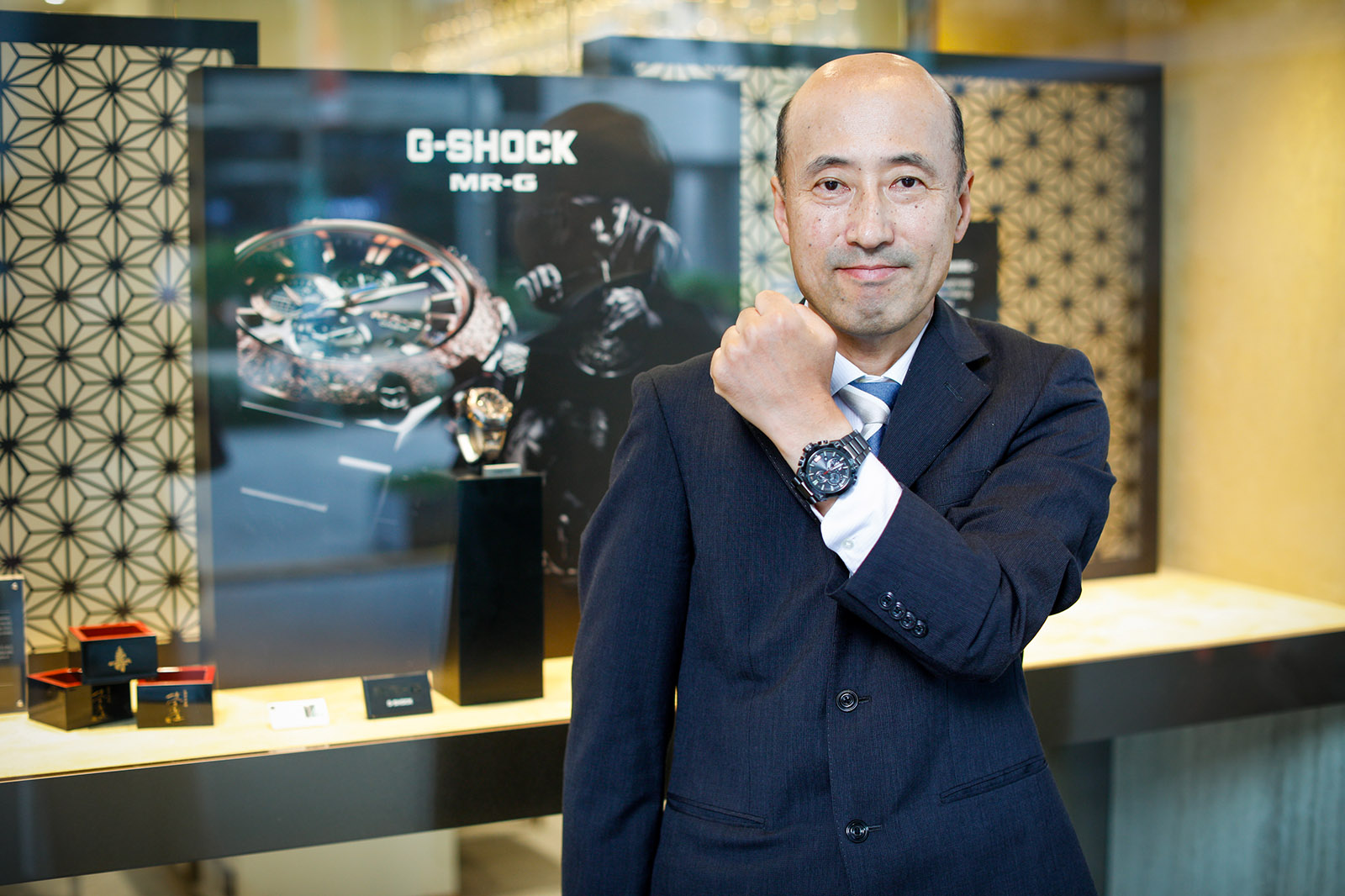 Shingo Ishizaka - MR-G G-SHOCK
