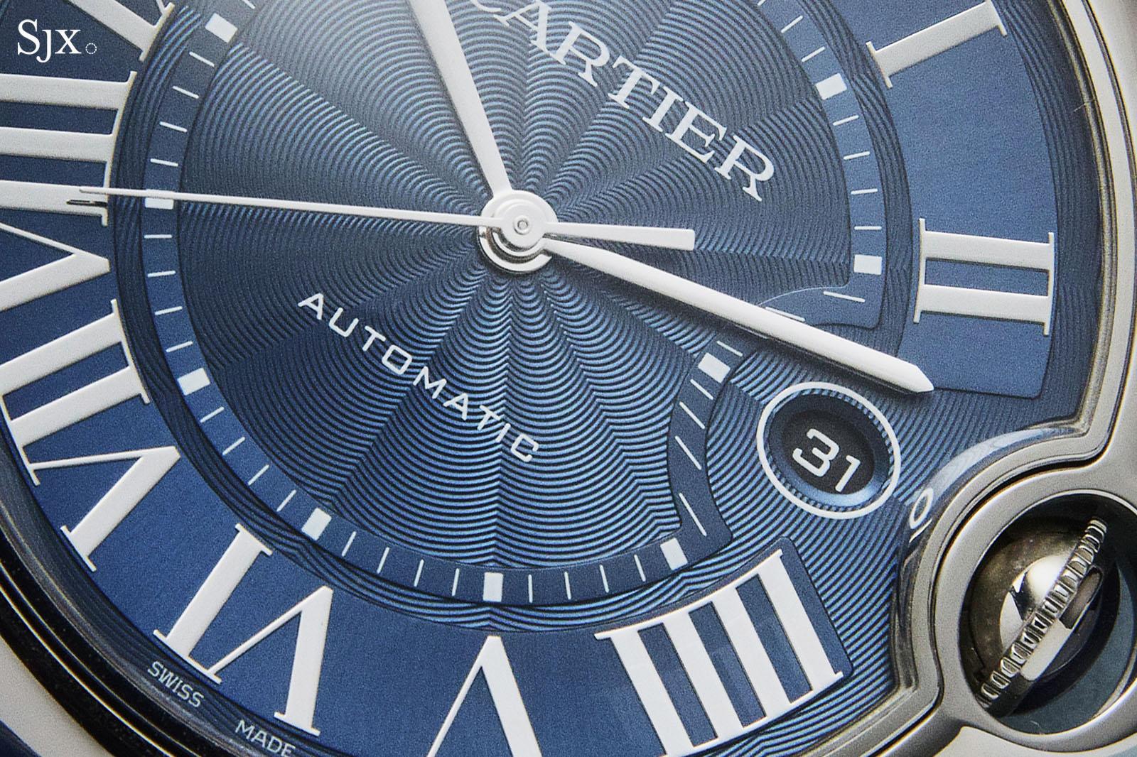 Cartier Ballon Bleu Automatic Blue Dial