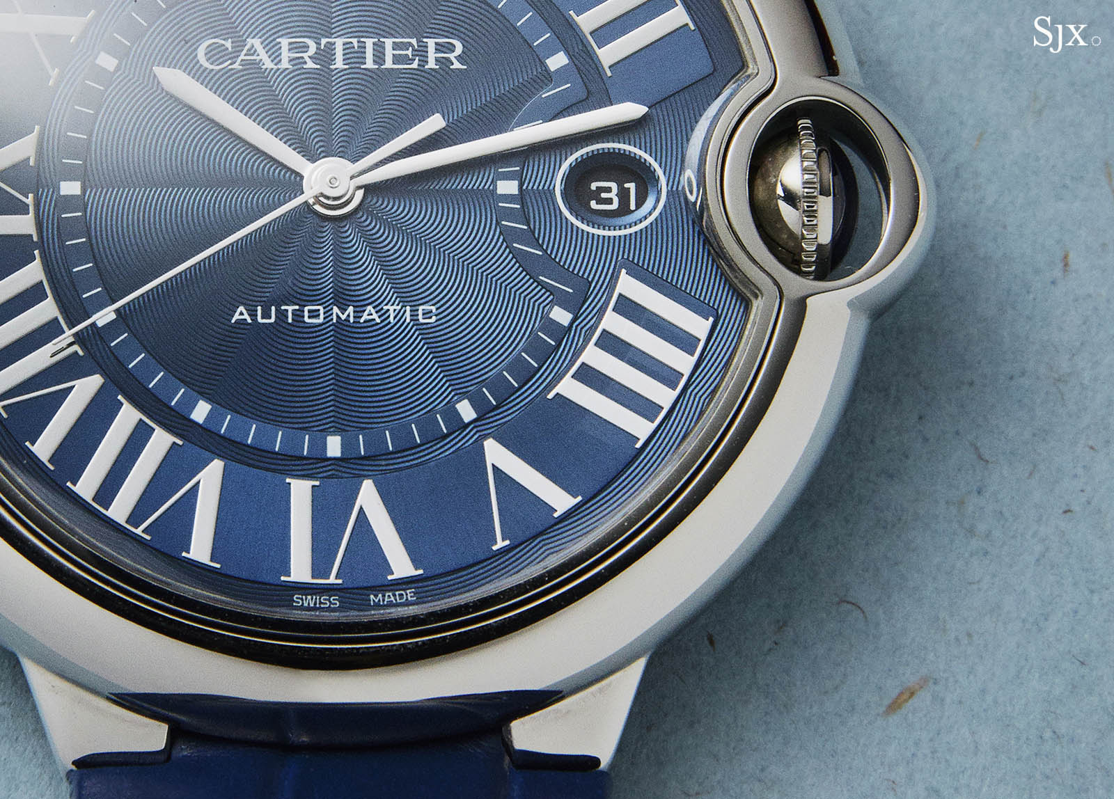 Cartier Ballon Bleu Blue Dial Automatic 2
