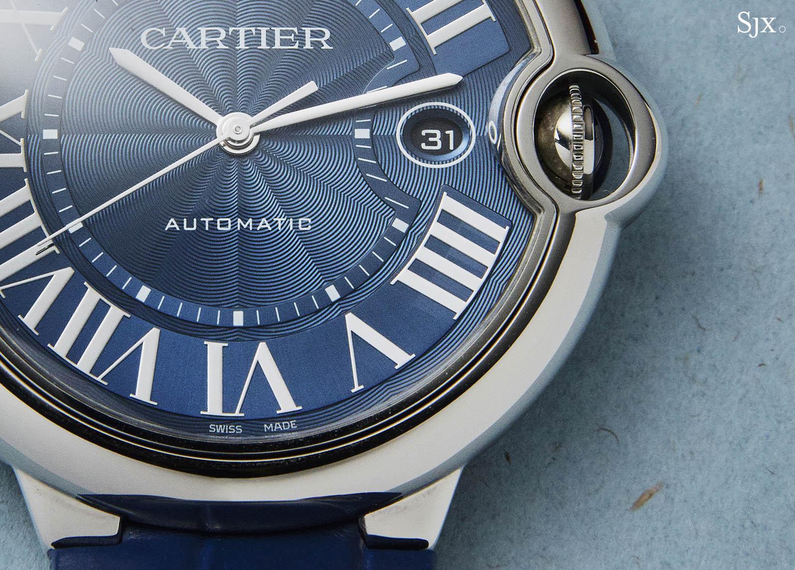 Cartier Ballon Bleu Blue Dial Automatic 2