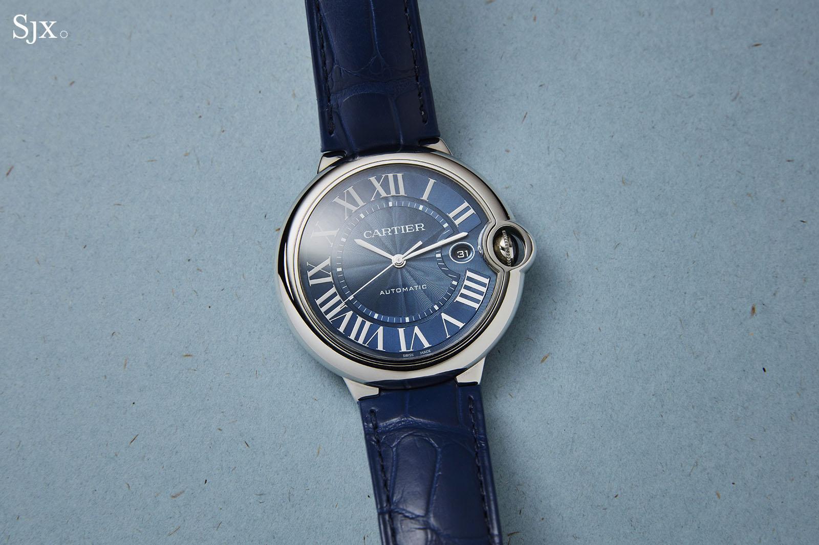 Cartier Ballon Bleu Blue Dial Automatic 3