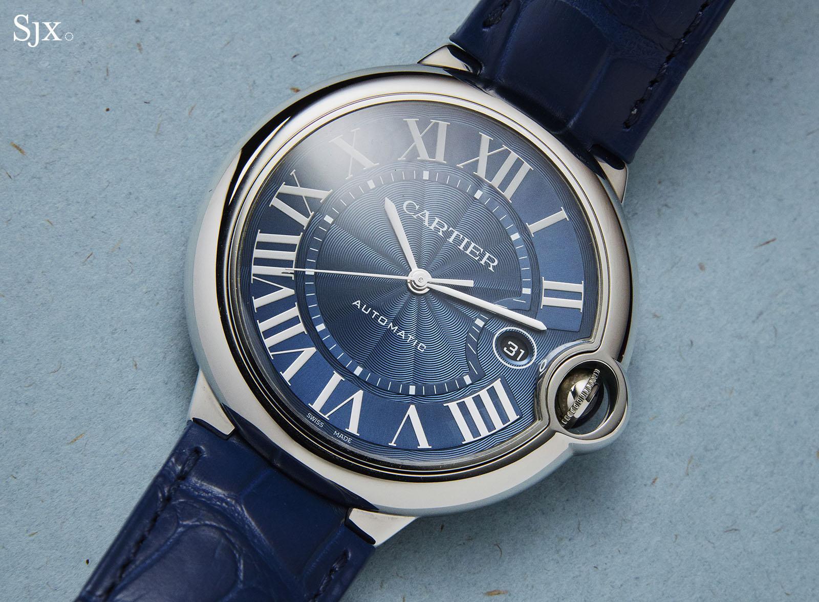Cartier Ballon Bleu Blue Dial Automatic