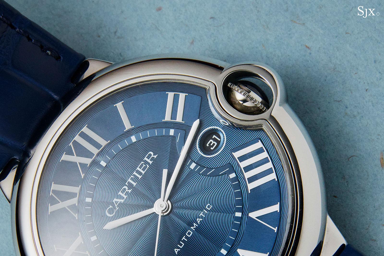 Cartier Ballon Bleu automatic blue dial 1