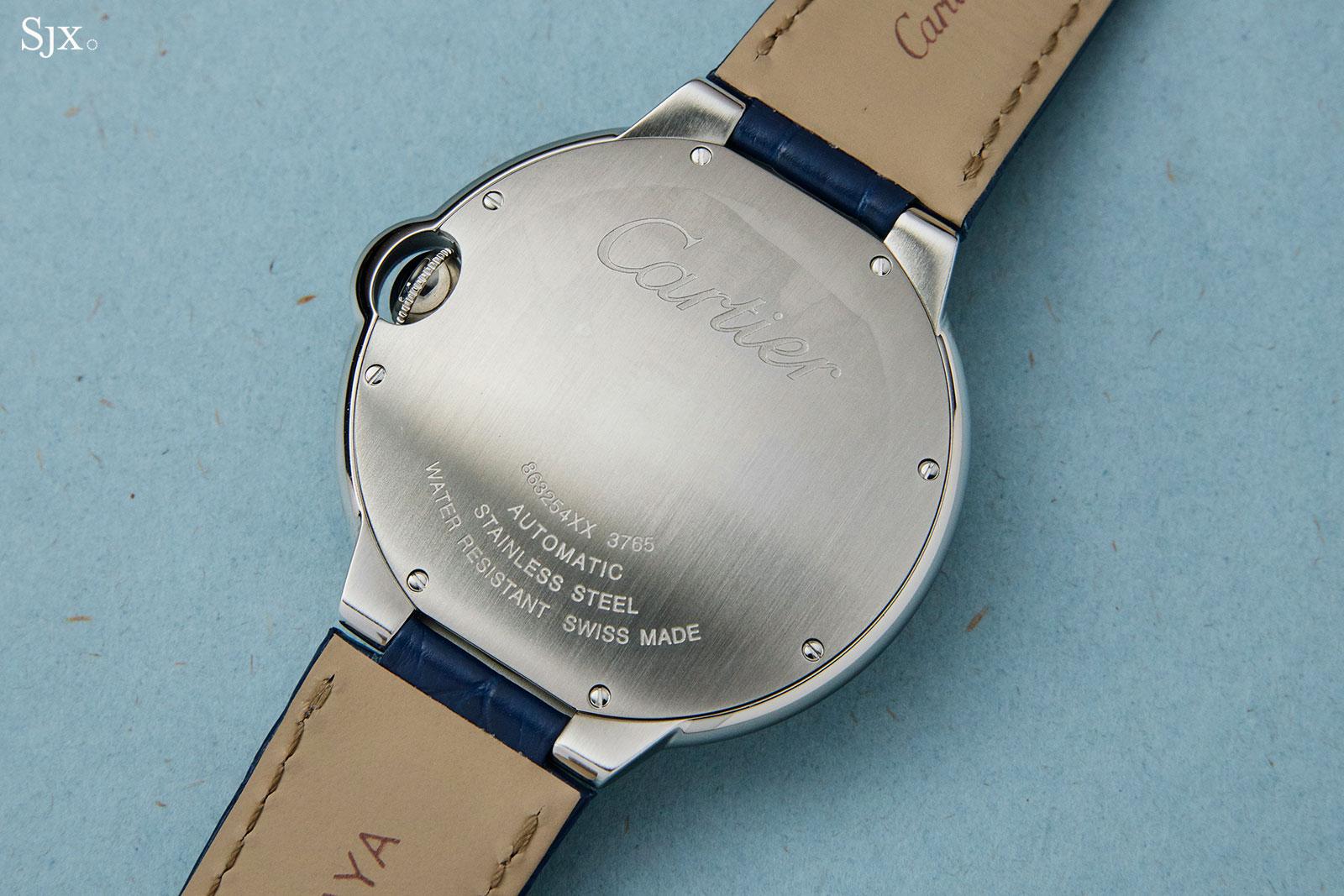 Cartier Ballon Bleu automatic blue dial 2