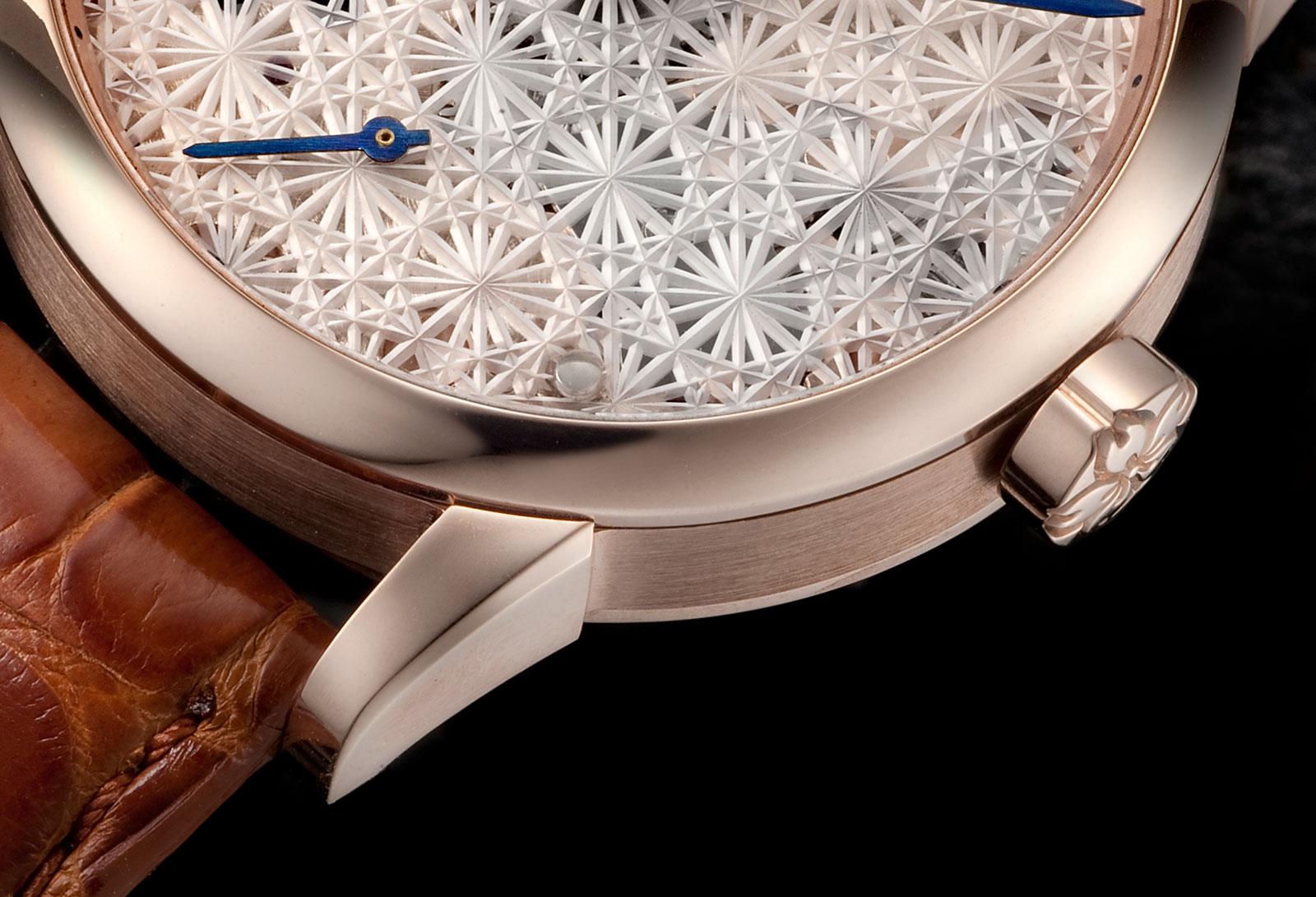 Daizoh Makihara sakura glass watch 2