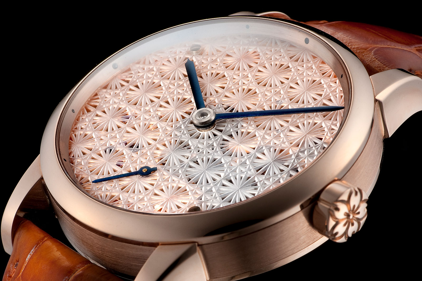 Daizoh Makihara sakura glass watch 7