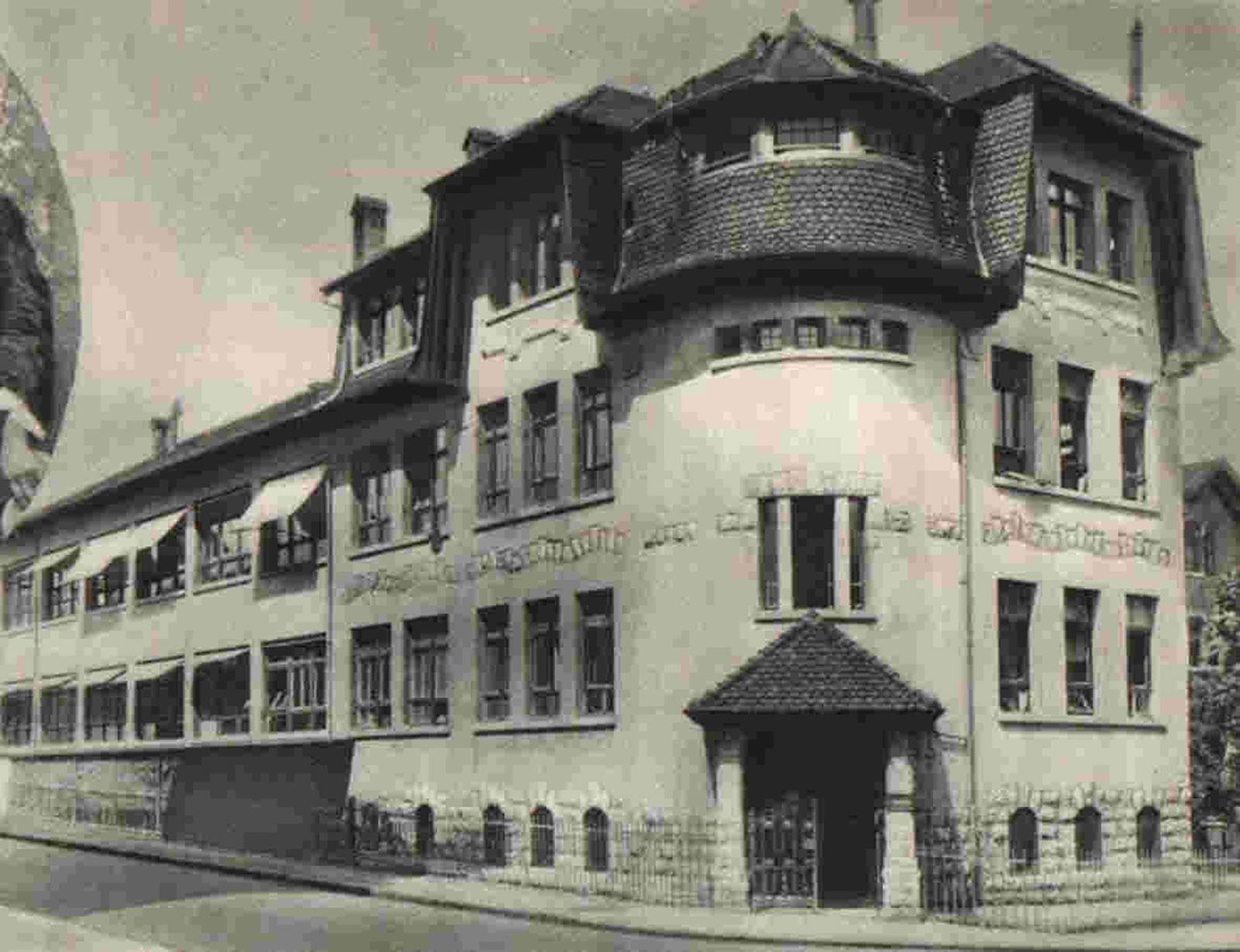 Geneva factory spiraux réunis 1925