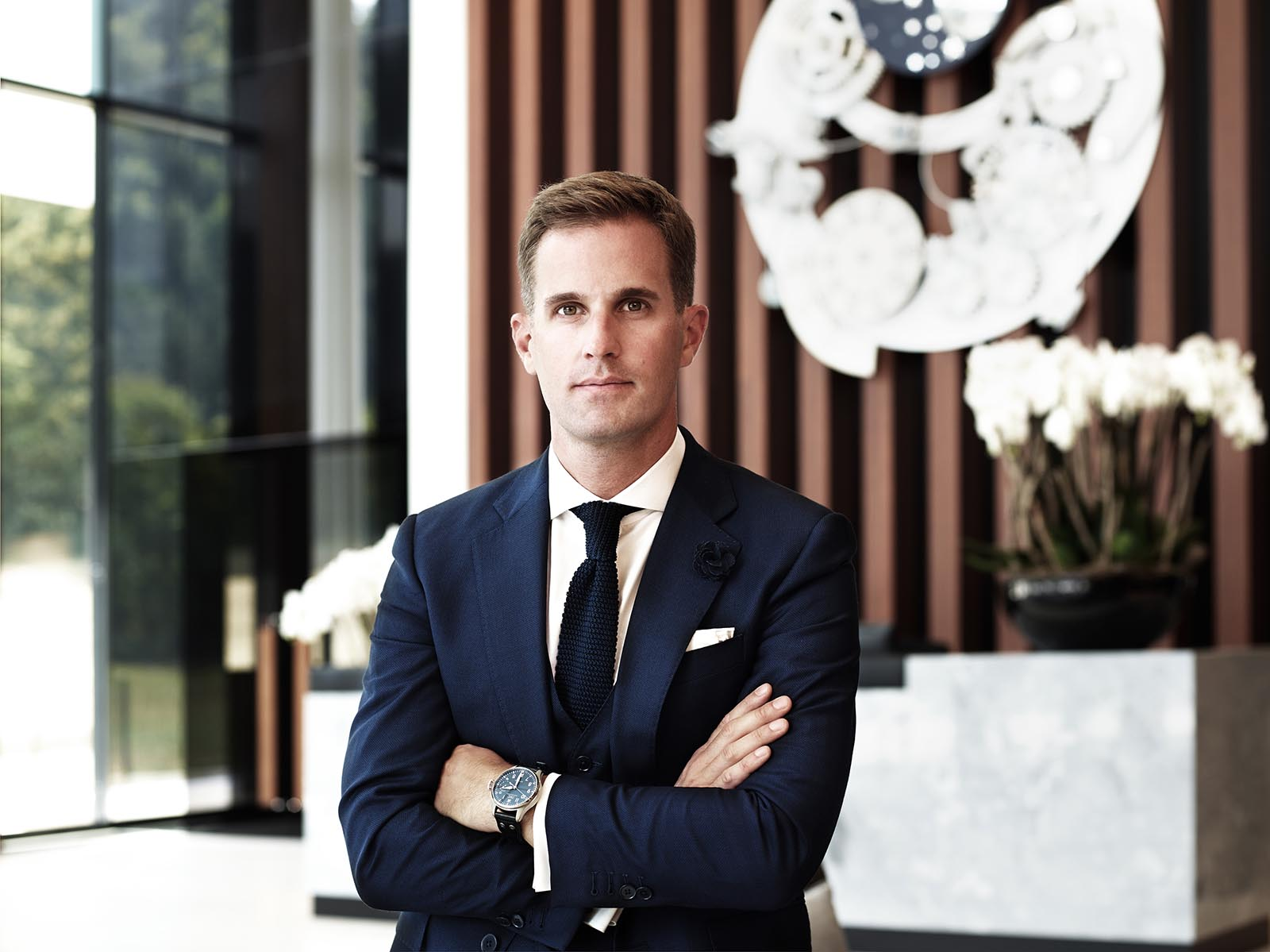 IWC CEO Christoph Grainger-Herr