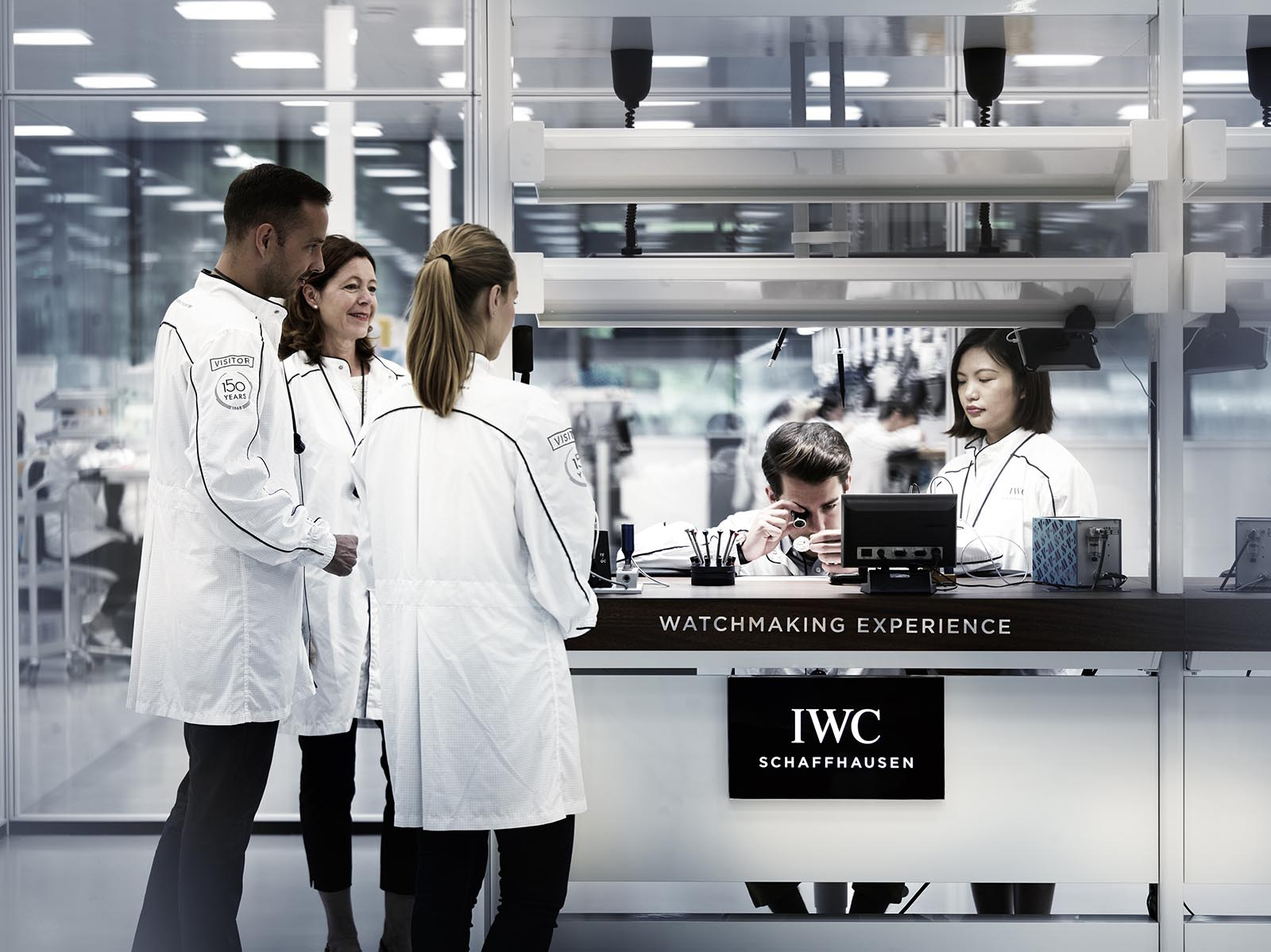 IWC Manufacture Visitors room