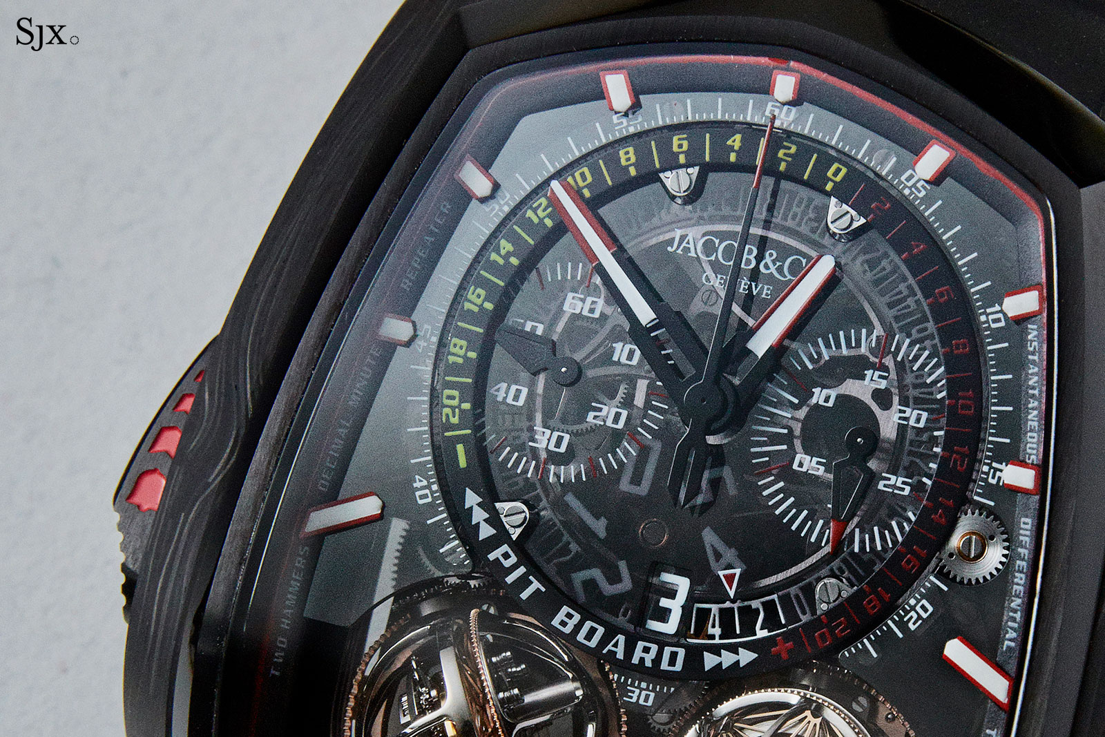 Jacob Co Twin Turbo Furious tourbillon 1