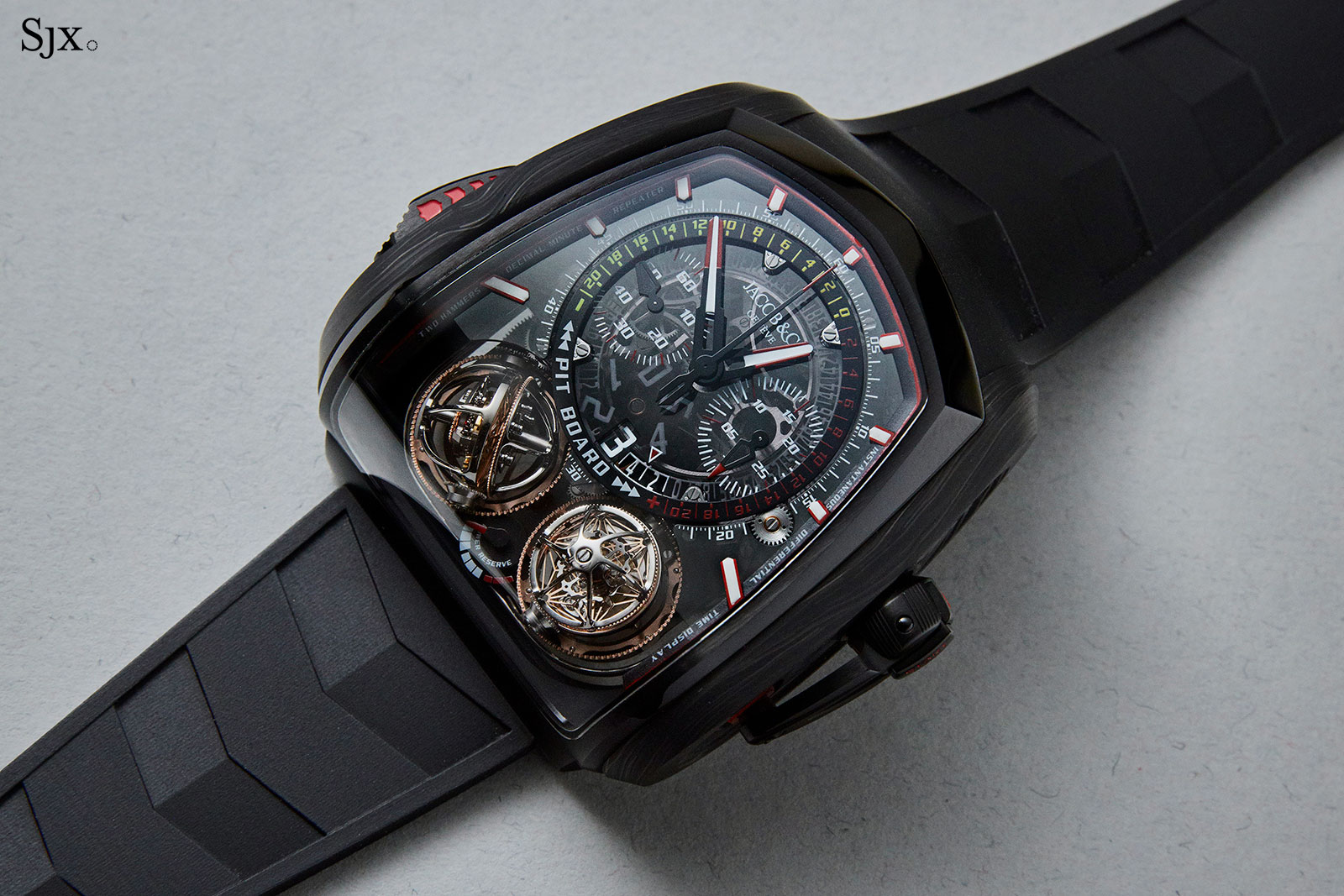 Jacob Co Twin Turbo Furious tourbillon 3