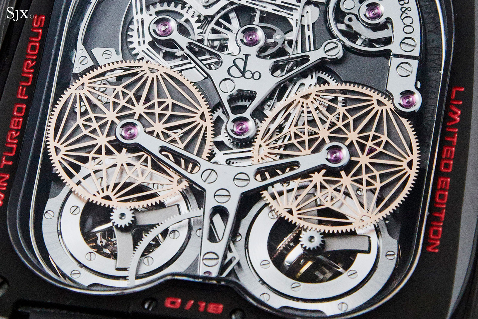 Jacob Co Twin Turbo Furious tourbillon 4