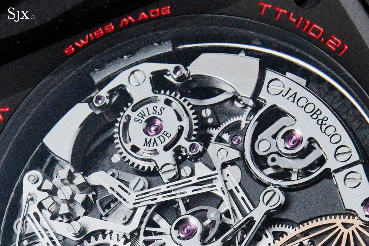 Jacob Co Twin Turbo Furious tourbillon 5