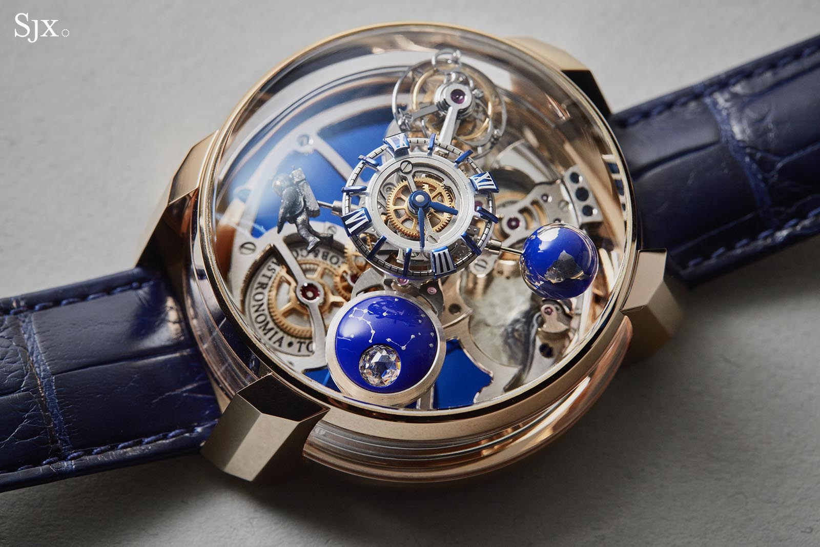 Hands on with the jacob co astronomia maestro minute repeater architectural imaginative for Jacob co watches